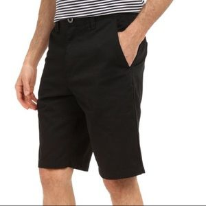 Volcom Shorts - Men's Volcom Black Frickin Chino Shorts